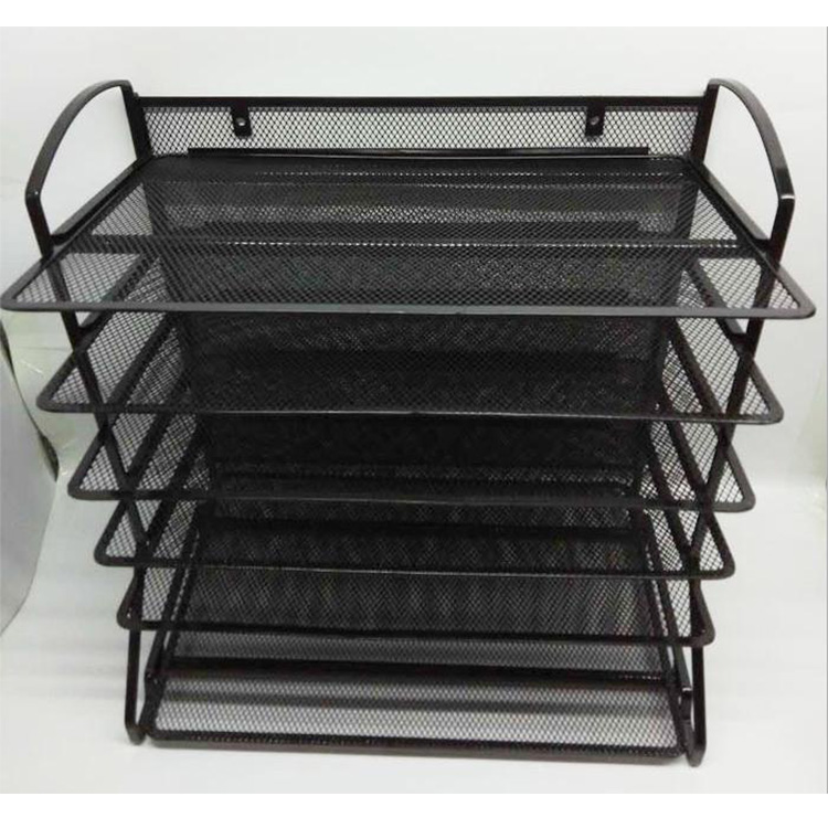 Desktop file organizer holder