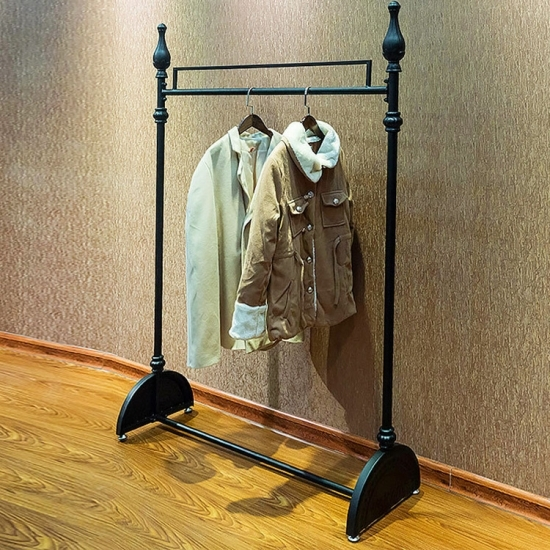 metal clothes rack