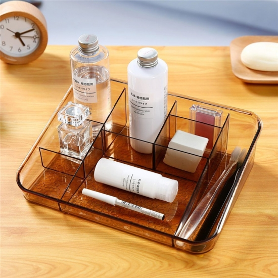 Acrylic cosmetic display MST